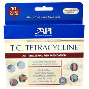 Aquarium Pharmaceuticals T.C. Tetracycline Powder - Bacterial and Fungal Aquarium Medications Best Price