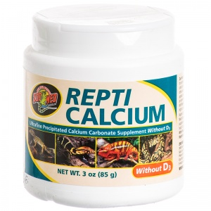 Zoo Med Repti Calcium without D3: 3 oz #A33-3 - Reptile Food Supplements