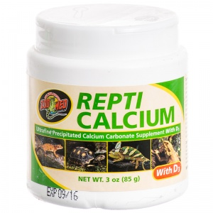 Zoo Med Repti Calcium with D3: 3 oz #A34-3 - Reptile Food Supplements Best Price