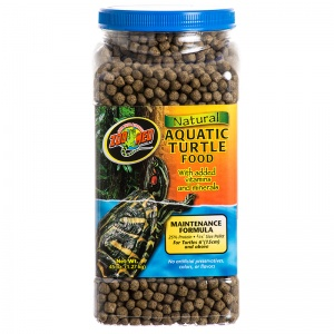 Zoo Med Natural Aquatic Turtle Food - Maintenance Formula for Turtle 6 inches and Above: 45 oz #ZM113 Best Price