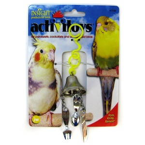 Insight Fork  Knife  and Spoon Bird Toy #31045 - Bird Toys Best Price