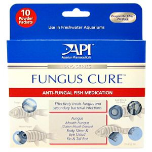 Aquarium Pharmaceuticals Fungus Cure Powder #16P - Bacterial and Fungal Aquarium Medications