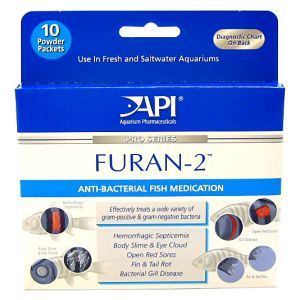 Aquarium Pharmaceuticals Furan-2 Powder #70P - Bacterial and Fungal Aquarium Medications