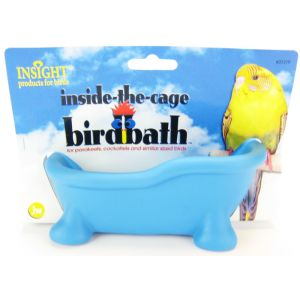 Insight Inside the Cage Bird Bath: Bird Bath - (6 L x 2.5H) #31319 - Bird Baths Best Price