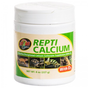 Zoo Med Repti Calcium with D3: 8 oz #A34-8 - Reptile Food Supplements Best Price