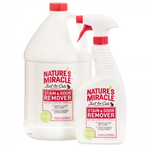 Natures Miracle Just For Cats Stain and Odor Remover - Stain and Odor Control for Cats Best Price