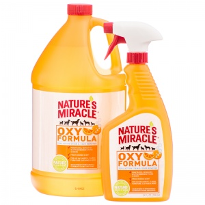 Natures Miracle Dual Action Orange Oxy Stain and Odor Remover - Dog Stain and Odor Control Best Price