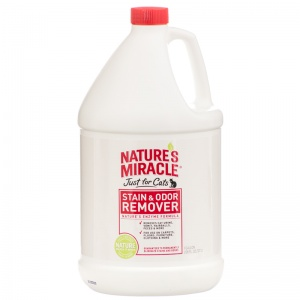 Natures Miracle Just For Cats Stain and Odor Remover: 1 Gallon #515804 - Stain and Odor Control for Cats Best Price