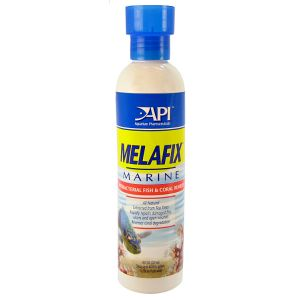 Aquarium Pharmaceuticals Melafix Marine Antibacterial Fish and Coral Remedy: 8 oz - (Treats up to 474 Gallons) #311C - Bacterial and Fungal Aquarium Medications Best Price