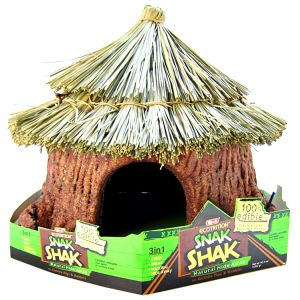 Ecotrition 8-1 Edible Snak Shak: Edible Snak Shak : Large Hide Away #E2205 - Small Pet Chew Toys Best Price