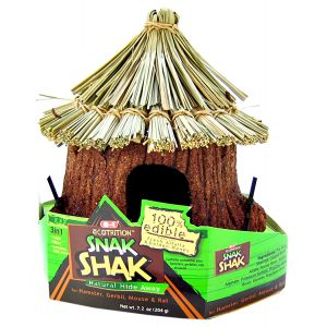 Ecotrition 8-1 Edible Snak Shak: Edible Snak Shak : Small Hide Away #E2207 - Small Pet Chew Toys