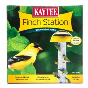 Kaytee Finch Station Sock Feeder: 6 Diameter x 21 Tall #19110 - Finch and Thistle Feeders