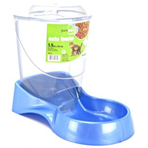 Van Ness Auto Feeder - (Food Only): 1.5 lb - (9 ¼ x 5 5/8 x 7 1/8) Feeder is Circular in shape #AF2 - Gravity Dog Feeders