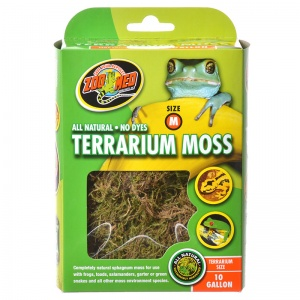 Zoo Med All Natural Terrarium Moss: 10 Gallon #CF2M - Reptile Terrarium Plants Best Price