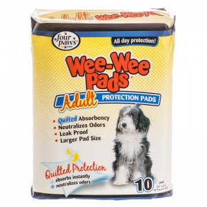 Four Paws Wee Wee Pads for Adult Dogs - (24 x 24 ) - Dog Housetraining Aids Best Price