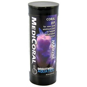 Brightwell Aquatics Medicoral Coral Dip: 2 oz #MDC60 - Coral and Invertebrate Reef Supplements