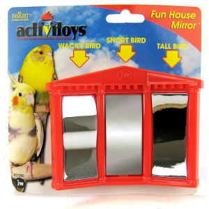 Insight Fun House Mirror Bird Toy #31050 - Bird Toys Best Price