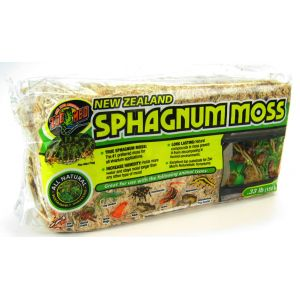 Zoo Med New Zealand Sphagnum Moss Décor: New Zealand Moss Decor #CF2-5 - Reptile Terrarium Plants Best Price