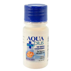 Nutrafin Aqua Plus Water Conditioner: 1 oz #A7925 - Aquarium Water Conditioners Best Price