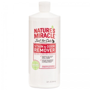 Natures Miracle Just For Cats Stain and Odor Remover: 32 oz #HG-5158 - Stain and Odor Control for Cats Best Price