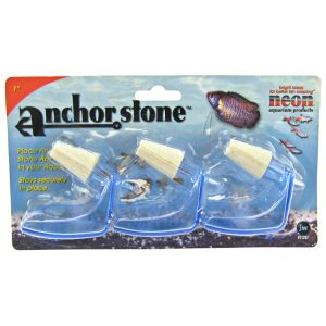 Fusion Anchor Stone Air Stone 1: 3 Pack #21207 - Aquarium Airstones Best Price