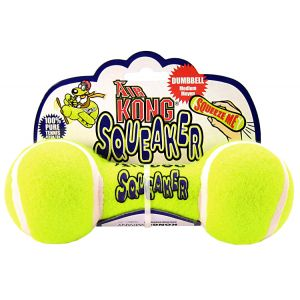 Kong Air Dog Air Kong Dumbbell Squeaker: Medium #ASDB2 - Toss and Fetch Dog Toys Best Price