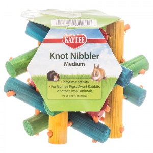 Super Pet Nut Knot Nibbler: Small - (3.5 x 3.5) #62065 - Small Pet Chew Toys Best Price