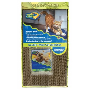 Cosmic Catnip Cosmic Double Wide Cardboard Scratching Post