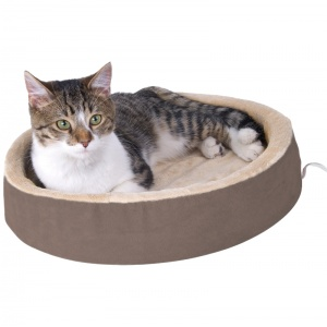 KandH Pet Beds Thermo Kitty Cuddle Up - Heated Cat Beds Best Price