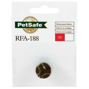 PetSafe 3 Volt Battery Module for Bark Collars: 1 Pack #RFA-188 - Replacement Batteries Best Price