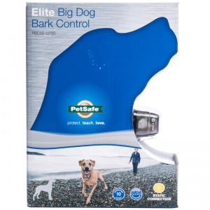 PetSafe Big Dog Bark Control Collar: Pets up to 65 lbs - (Fits Necks up to 34) #PBC00-12725 - Dog Bark Control Trainers