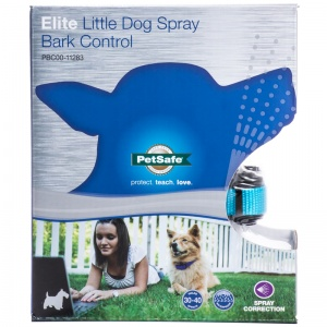 PetSafe Deluxe Little Dog Spray Bark Control Collar: Little Dog Spray Bark Collar #PBC00-11283 - Dog Bark Control Trainers Best Price