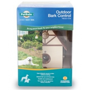 PetSafe Ultrasonic Outdoor Bark Control: Ultrasonic Bark Control - (6L x 4W x 8.6H) #PBC00-11216 - Dog Bark Control Trainers Best Price