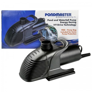 Pondmaster Hy-Drive Pond Pump with Rotating Connector: 4 850 GPH #20220 - Pond Waterfall Pumps Best Price