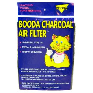 Booda Charcoal Air Filter - Type A: Charcoal Air Filter - Type A - 1 Pack #50302 - Cat Pan Liners and Filters Best Price