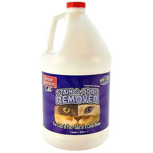 Simple Solution Stain and Odor Remover for Cats: 1 Gallon #11215 - Stain and Odor Control for Cats Best Price