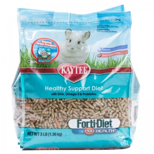 Forti-Diet Kaytee Forti Diet Pro Health Chinchilla Food: Pro Health Chichilla Food - 3 lbs #100502080 Best Price