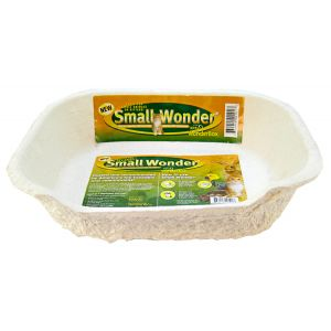 8 in 1 Pet Products Kitty Wonder Box - Small: Kitty Wonder Box - Small - 1 Pack - (12L x 14W x 2H) #W-00101-1 - Cat Litter Boxes Best Price