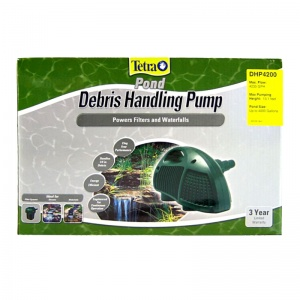 Tetra Pond Pond Debris Handling Pump: Pump DHP 4200 - (4 235 GPH - Max Pond 5 000 Gallon) #DHP4200 - Pond Water Garden Pumps Best Price