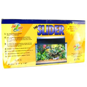Zoo Med The Slider Terrarium Hood: 24 Long x 12 Wide #SH-24 - Reptile Hoods Best Price