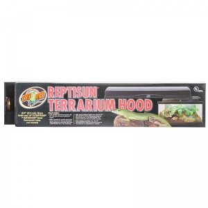 Zoo Med Reptisun Terrarium Hood: 20 Fixture - (Fits 18 - Bulb Not Included) #LF-60 - Reptile Hoods
