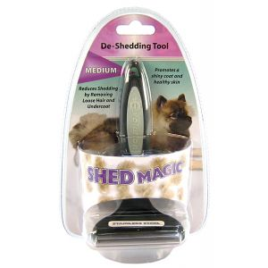 Evolution Shed Magic De-Shedding Tool: Medium #W6167 - Dog Shedding Tools Best Price