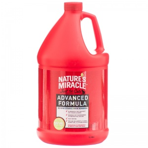 Natures Miracle Just For Cats Advanced Stain and Odor Remover: 1 Gallon #P-5724 - Stain and Odor Control for Cats