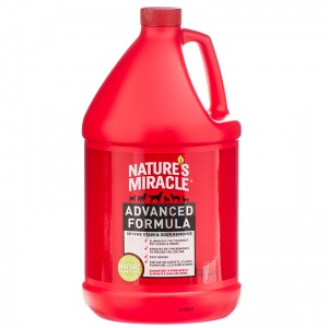 Natures Miracle Advanced Stain and Odor Remover: 1 Gallon #P-5728 - Dog Stain and Odor Control