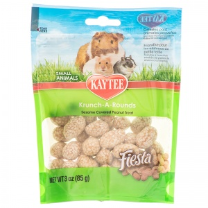 Fiesta Kaytee Peanut Krunch A Rounds - Small Pet Chew Treats Best Price
