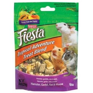 Fiesta Tropical Adventure Treat Blend: 8 oz #100502816 - Small Pet Fruit Treats Best Price