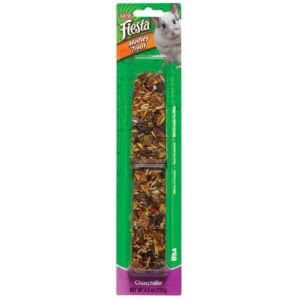 Kaytee Fiesta Medley Treat Stick - Chinchilla: 4.5 oz