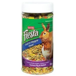Fiesta Fruit and Veggie Treat Jar - Rabbit/Guinea Pig: 9 oz #100502781 - Rabbit Treats Best Price