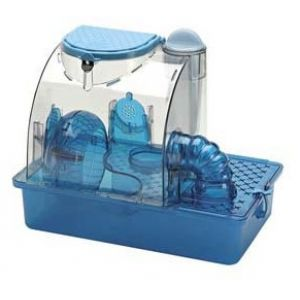 S.A.M. Blue Knight House: Small #CB1 - Small Pet Habitats Best Price