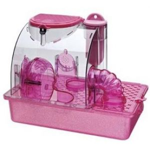 S.A.M. Pink Princess House - Small Pet Habitats Best Price